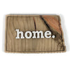 home. Wooden Plaques - North Dakota