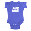 born. Baby Bodysuit - Oregon