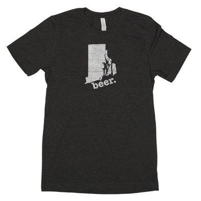 beer. Men's Unisex T-Shirt - Rhode Island