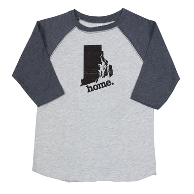 home. Youth/Toddler Raglans - Rhode Island