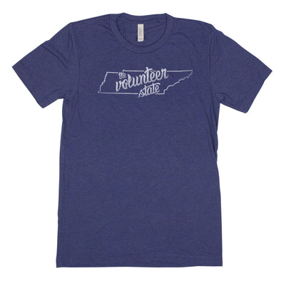 Nickname Freehand Men's Unisex T-Shirt - Tennessee