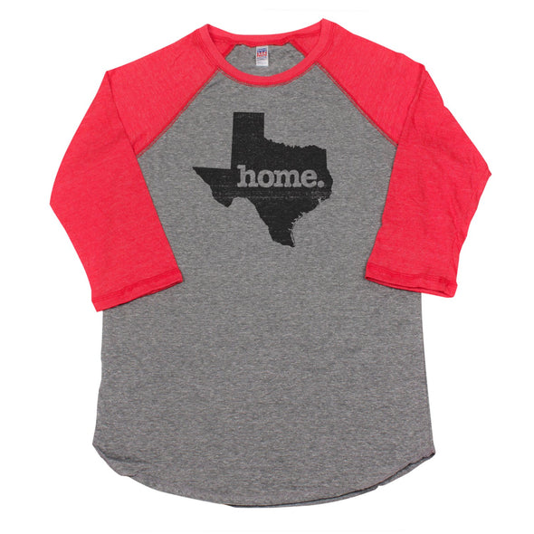 home. Men's Unisex Raglan - Texas