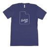 Nickname Freehand Men's Unisex T-Shirt - Utah