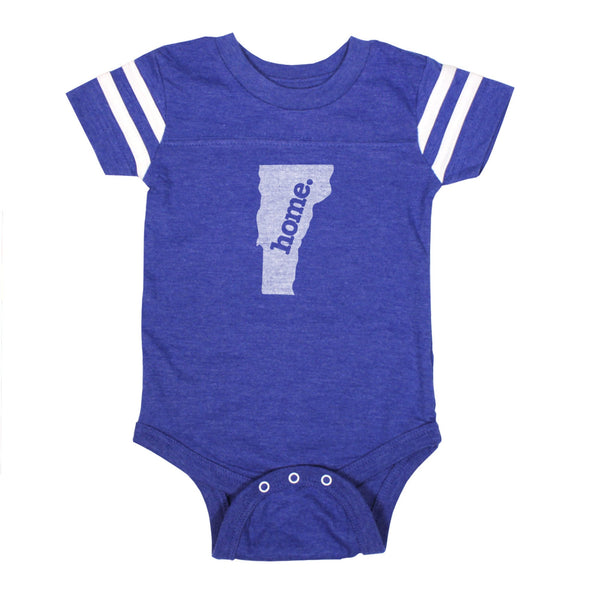 home. Football Baby Bodysuit - Vermont