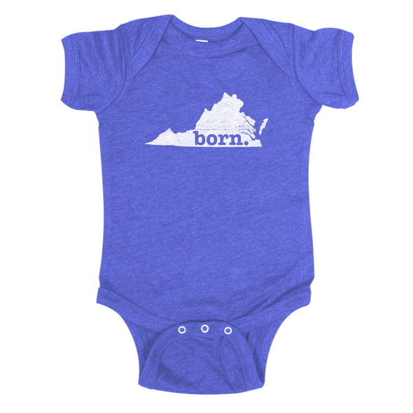 born. Baby Bodysuit - Virginia
