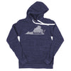 home. Men's Unisex Hoodie - Virginia
