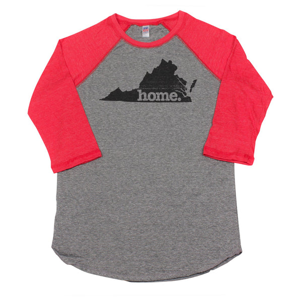 home. Men's Unisex Raglan - Virginia