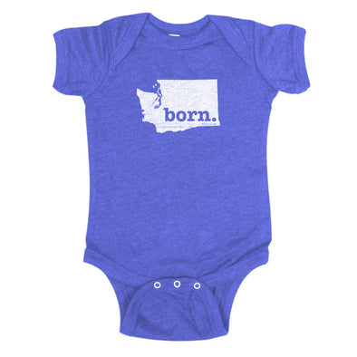 born. Baby Bodysuit - Washington