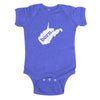 born. Baby Bodysuit - West Virginia