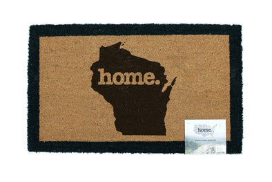 home. Door Mats - (5 Pack) Wisconsin