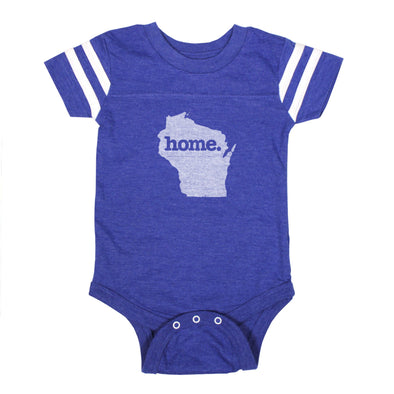 home. Football Baby Bodysuit - Wisconsin