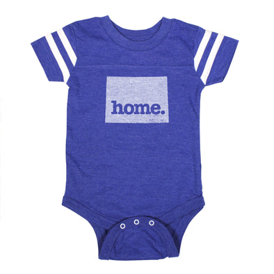home. Football Baby Bodysuit - Wyoming