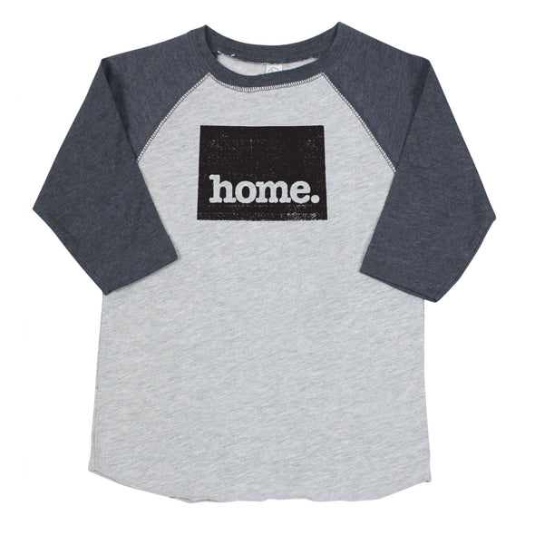 home. Youth/Toddler Raglans - Wyoming