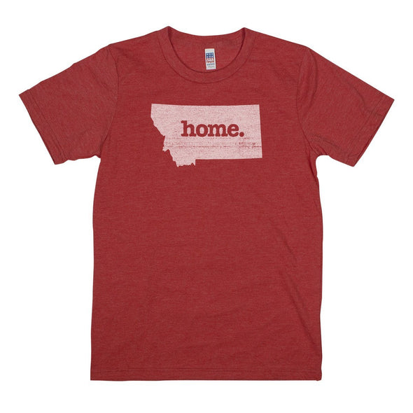 home. Men's Unisex T-Shirt - North Dakota