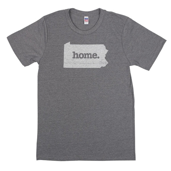 home. Men's Unisex T-Shirt - Wisconsin