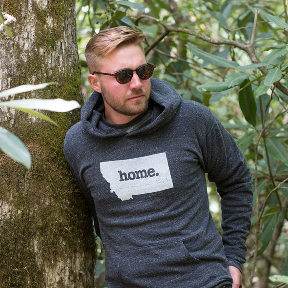 home. Men's Unisex Hoodie - North Dakota - Ready to Ship
