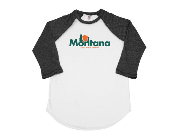 home. Horizon Men's Unisex Raglan - New York