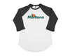 home. Horizon Men's Unisex Raglan - Virginia