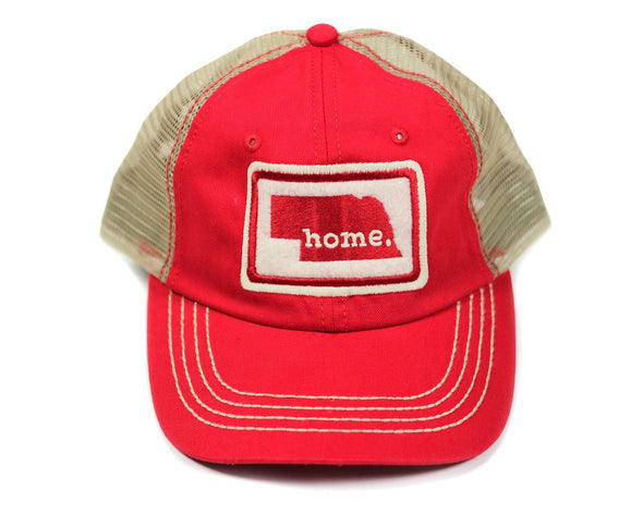 home. Mesh Hat - Massachusetts