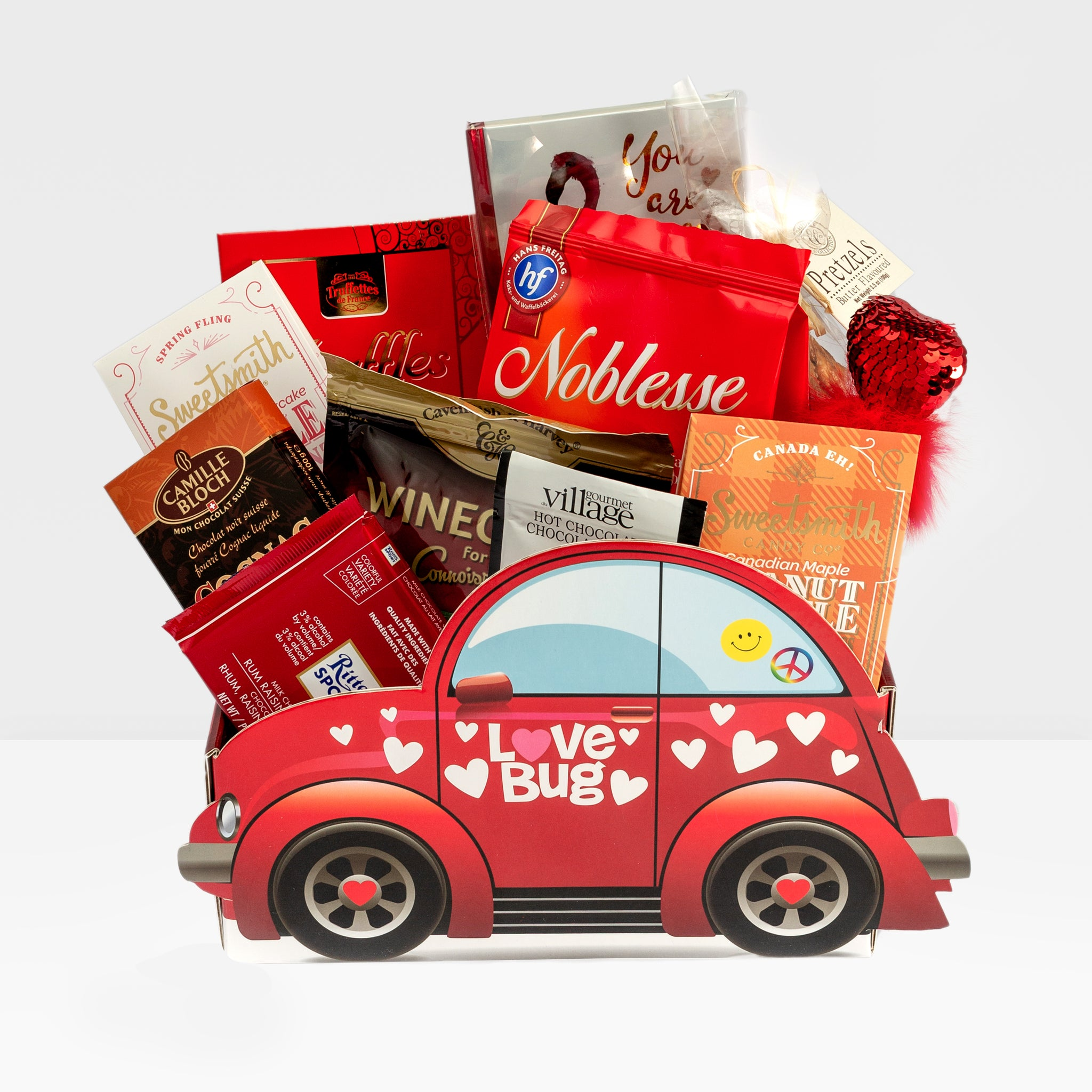 Custom Gift Basket: Love Bug