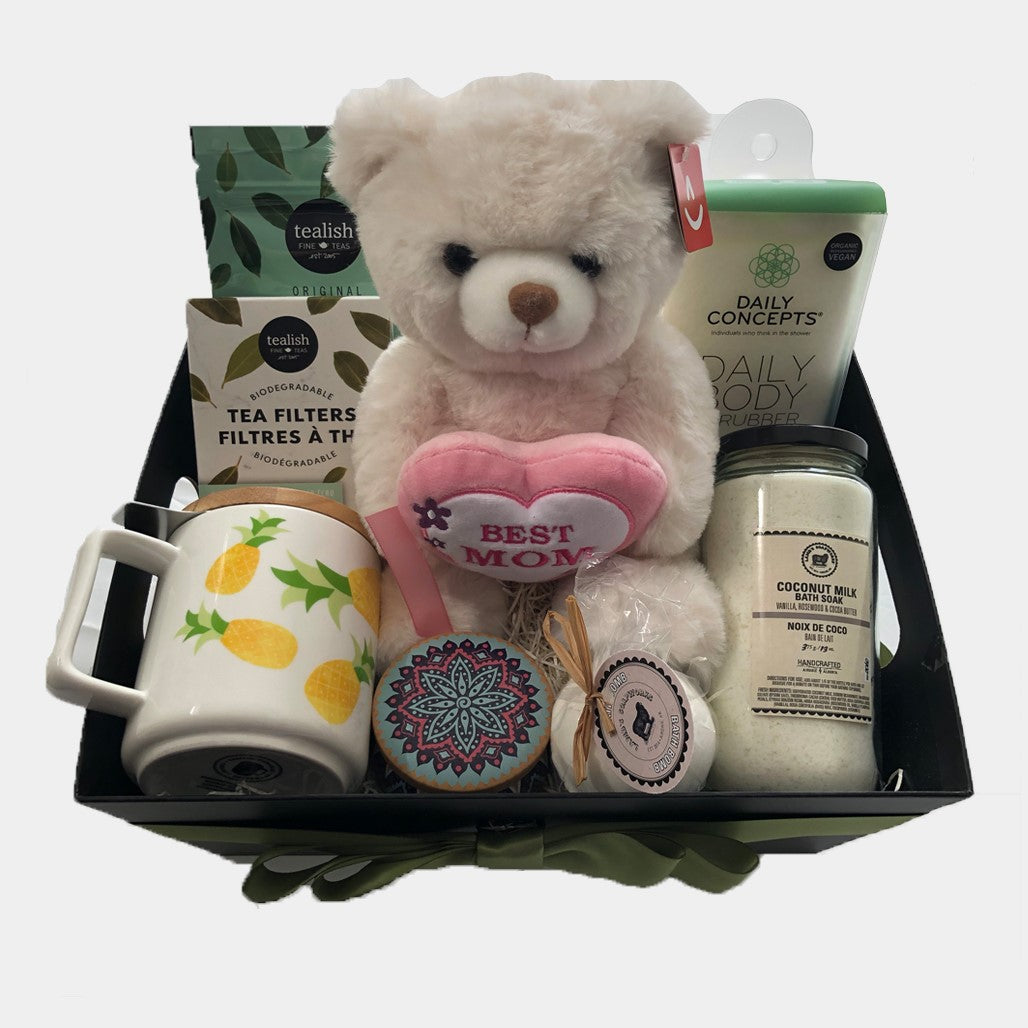 Surprise your Mom on this Mother's Day with this awesome gift basket from Dazzle Basket. This gift basket is a perfect gift for your mom. Same day gift basket delivery in Calgary.