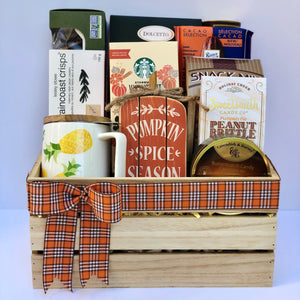 Gourmet Gift Basket: Fall Splendor