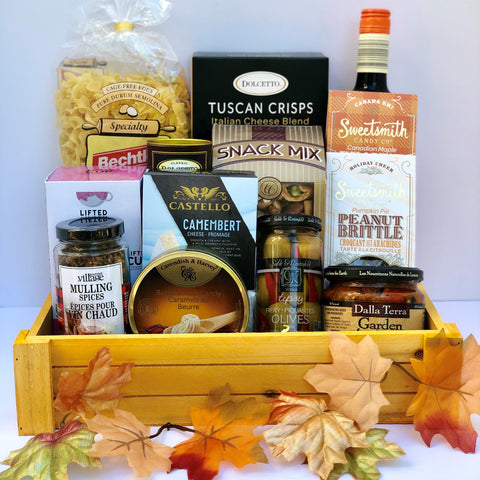 Gourmet Gift Basket: Magical Fall