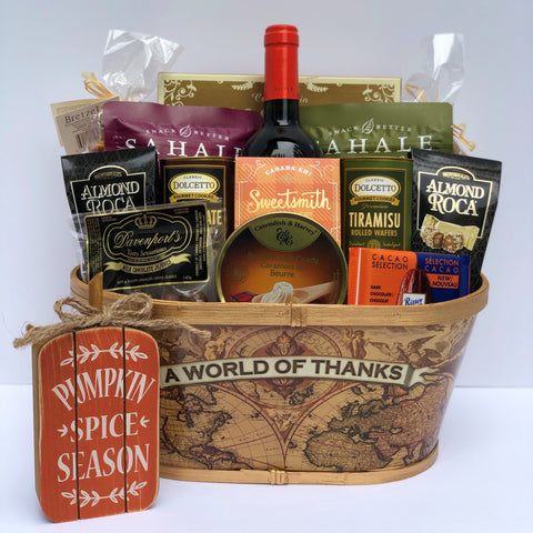 Gourmet Gift Basket: Celebrate Togetherness