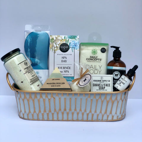 Spa Gift Basket for Men: Royal Man