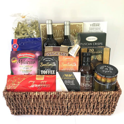 Gourmet Gift Basket for Wine Lovers