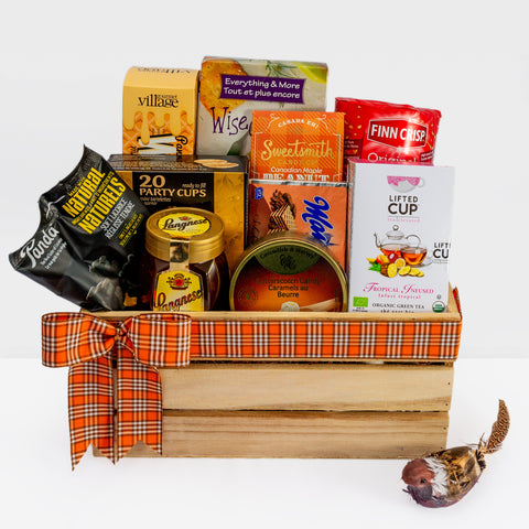 Gourmet Gift Basket: Gourmet in a crate