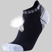 Load image into Gallery viewer, Compression Running Socks Athletic Anti-Blister No Show Low Cut Ankle for Men and Women Moisture Wicking