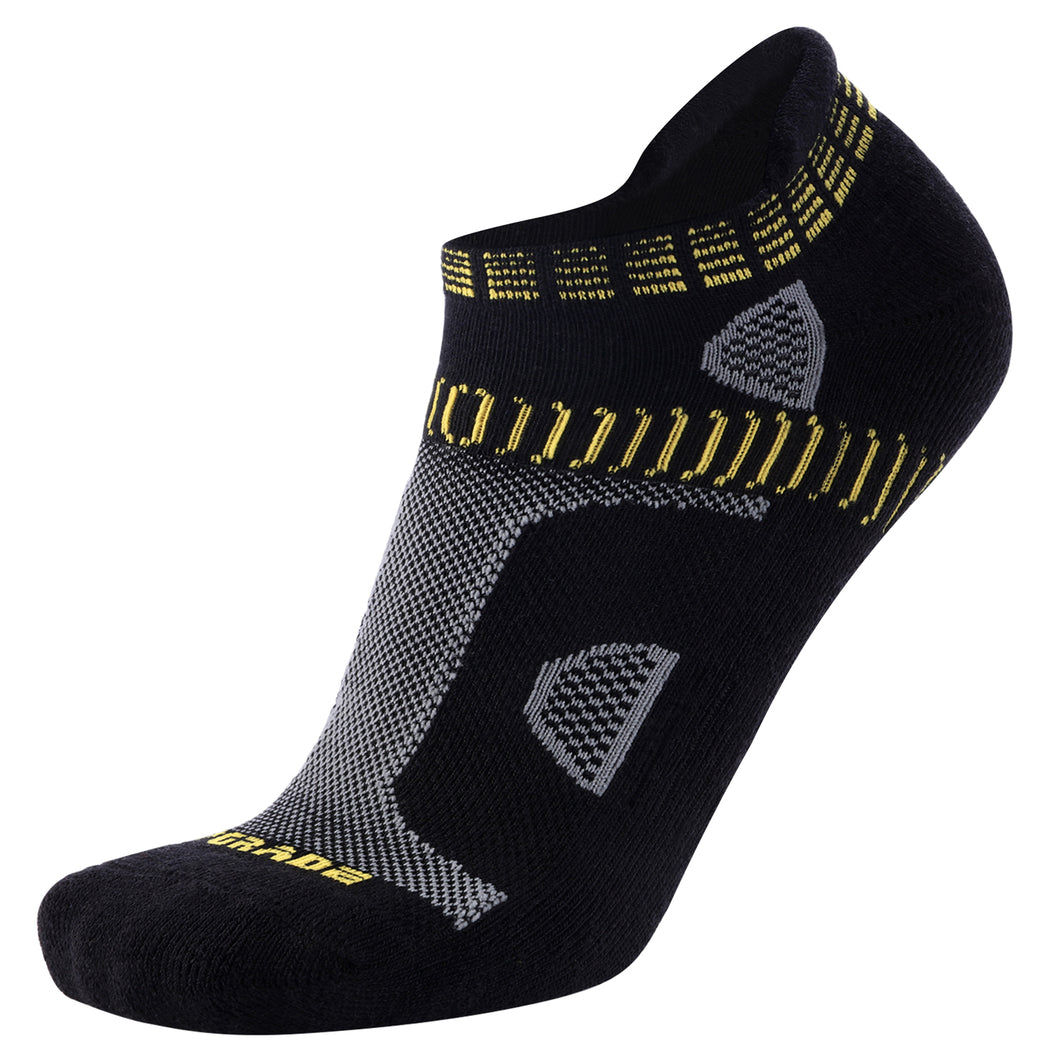 Compression Wool Running Socks Anti-Blister No Show Low Cut Athletic Socks for Men and Women