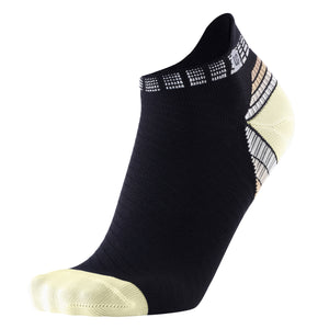 Compression Running Socks Athletic Anti-Blister No Show Low Cut Ankle for Men and Women Moisture Wicking
