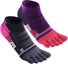 Load image into Gallery viewer, Women & Men No Show Low Cut Ankle Toe socks