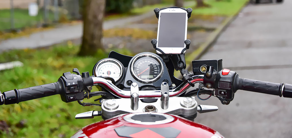 moto support smartphone guidon
