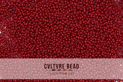 Czech Seedbead 11/0 Cranberry Opaque 20g