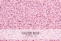 Toho Seedbead 15/0 - Opaque-Pastel-Frosted Plumeria - 5.2 gram vial