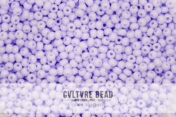 Czech Seedbead 11/0 Opaque Natural Lilac 20g