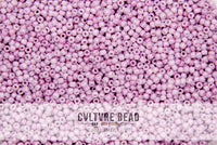 Toho Seedbead 11/0 - Marbled Opaque White Pink - 22g
