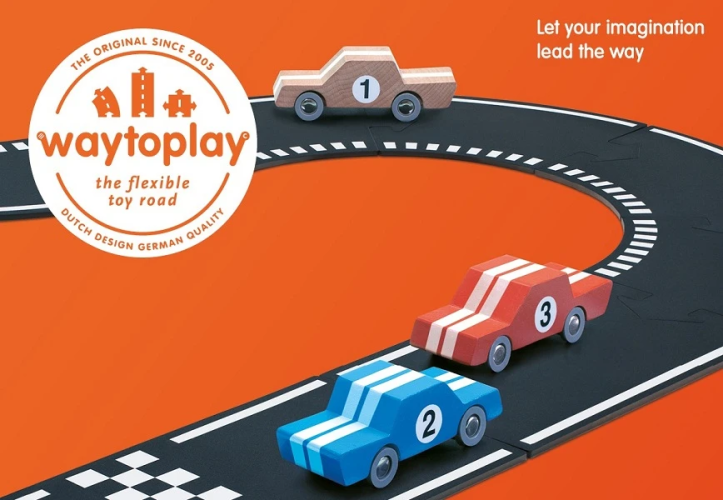 Waytoplay flexible road toys