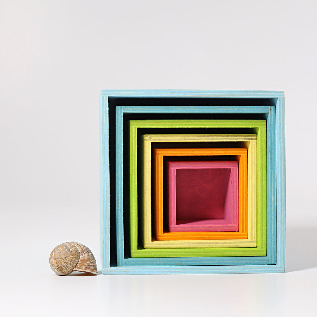 [Incoming November] Pastel Stacking Boxes - Toydler