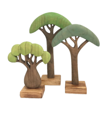 African Trees Coloured - Toydler