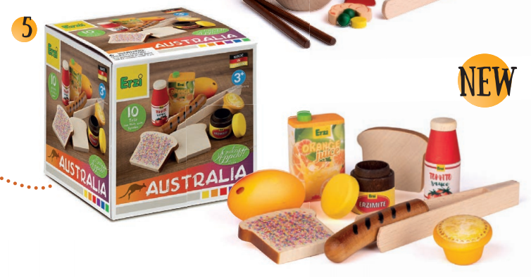 [Pre-Order MARCH] Assortment Australia Cuisine *NEW 2021* - Toydler