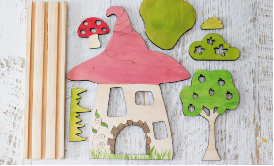 StoryScene - Fairy House Set - Toydler