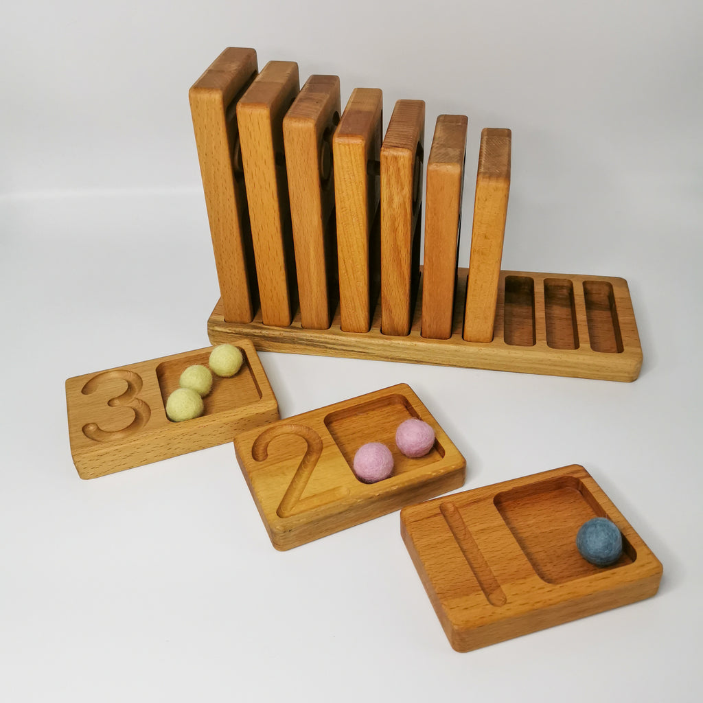 Ascending Counting Tray - Toydler
