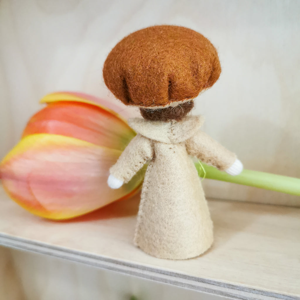Flowerfaries - Brown Fungus Boy *NEW* - Toydler