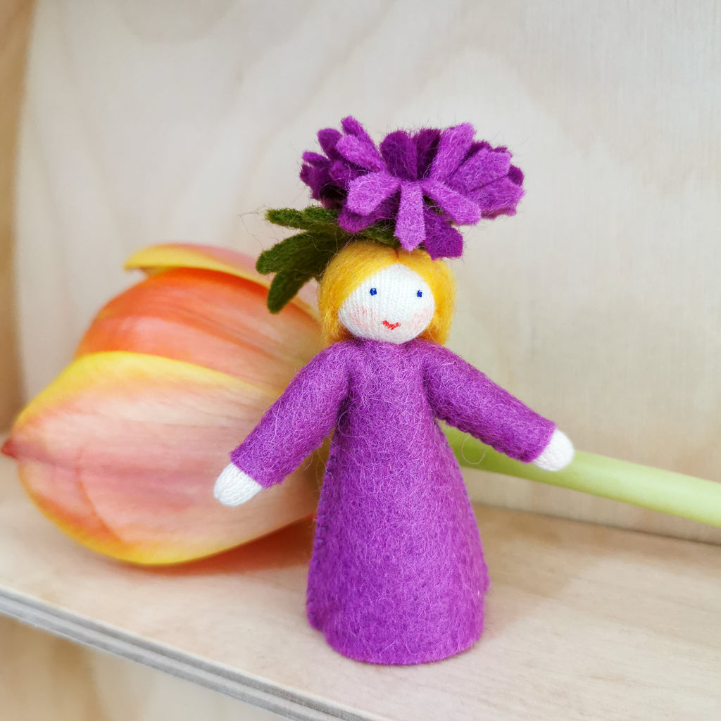 Flowerfaries - Michaelmas Daisy Girl - Toydler