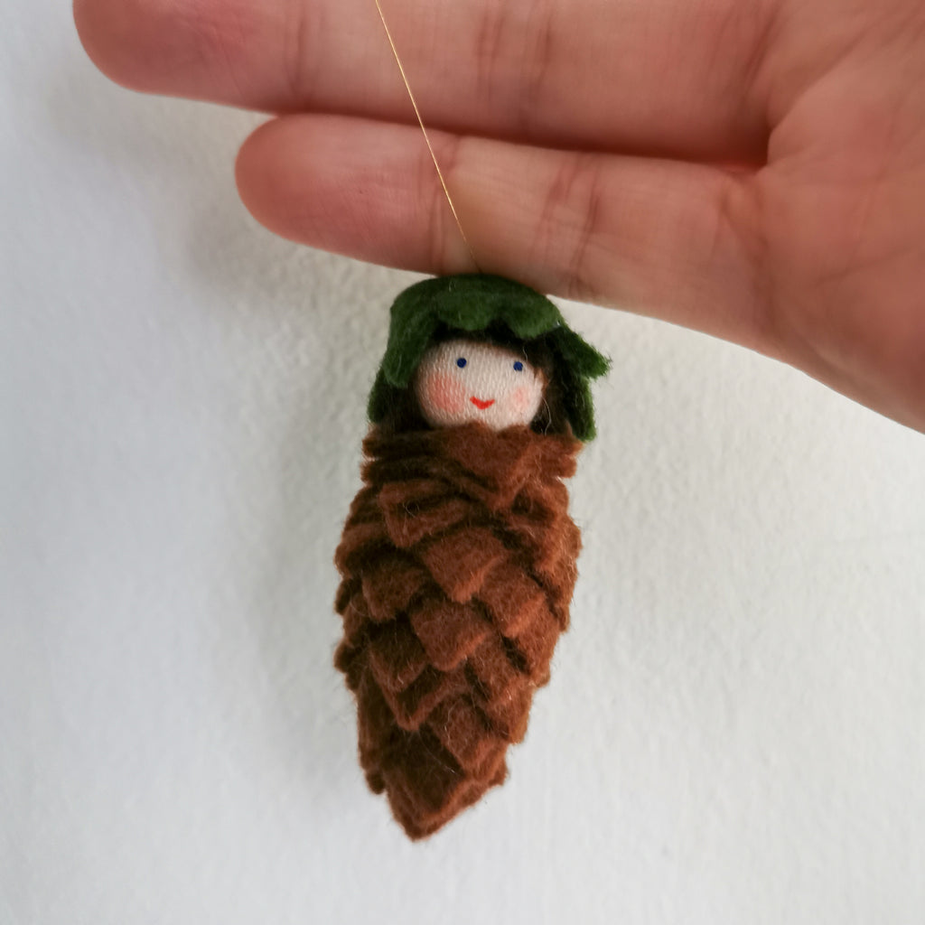Flowerfaries - Hanging Pine Cone - Toydler