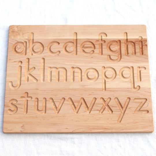 Printed Alphabet Tracing Board - Reversible - Toydler
